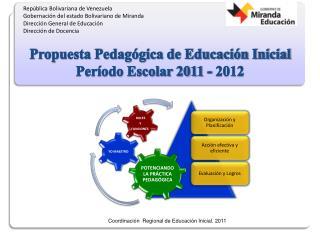 Rep blica Bolivariana de Venezuela Gobernaci n del estado Bolivariano de Miranda Direcci n General de Educaci n Direcci