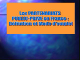 A- Etat des lieux de la commande publique en France