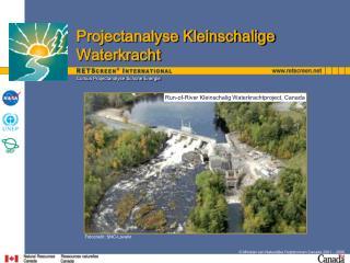 Cursus Projectanalyse Schone Energie