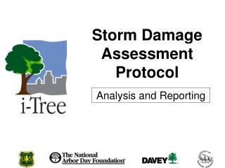 Storm Damage Assessment Protocol