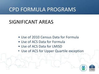 Counties, Places, MSAs and Other Census Definitions