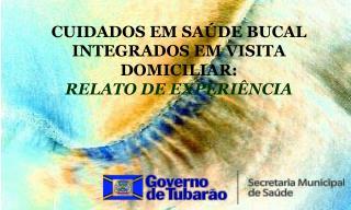 CUIDADOS EM SA DE BUCAL INTEGRADOS EM VISITA DOMICILIAR:  RELATO DE EXPERI NCIA