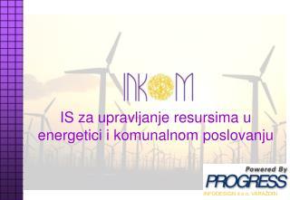 IS za upravljanje resursima u energetici i komunalnom poslovanju