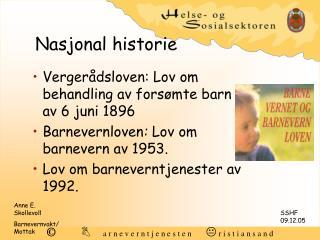Nasjonal historie
