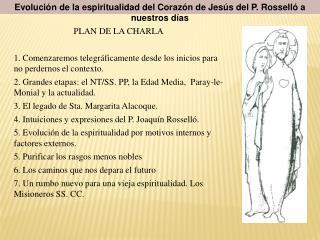 Evoluci n de la espiritualidad del Coraz n de Jes s del P. Rossell  a nuestros d as