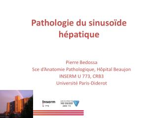 Pathologie du sinuso de h patique