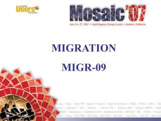 MIGRATION MIGR-09
