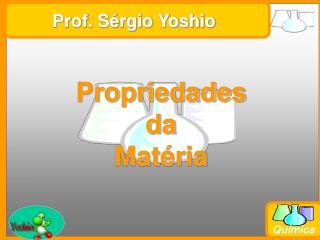 Prof. S rgio Yoshio