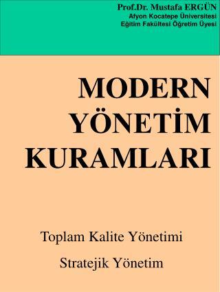 Prof.Dr. Mustafa ERG N Afyon Kocatepe  niversitesi Egitim Fak ltesi  gretim  yesi