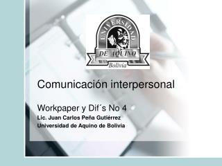 Comunicaci n interpersonal