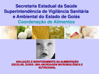 Secretaria Estadual da Sa de Superintend ncia de Vigil ncia Sanit ria e Ambiental do Estado de Goi s Coordena  o de Alim