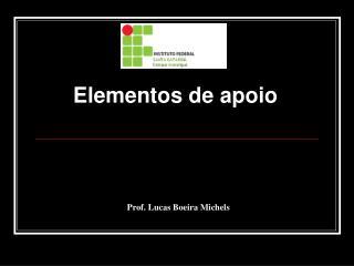 Prof. Lucas Boeira Michels
