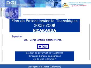 Plan de Potenciamiento Tecnol gico 2005-2008 NICARAGUA