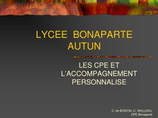 LYCEE  BONAPARTE  AUTUN