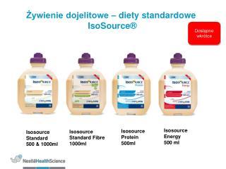 Zywienie dojelitowe   diety standardowe  IsoSource