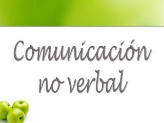 Comunicaci n no verbal