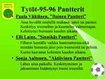 Tyt t-95-96 Pantterit