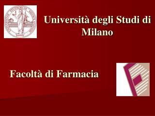 Universit  degli Studi di Milano