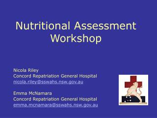 Nutritional Assessment  Workshop