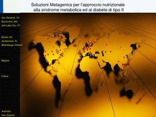 Soluzioni Metagenics per l approccio nutrizionale  alla sindrome metabolica ed al diabete di tipo II