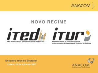 Encontro T cnico Sectorial