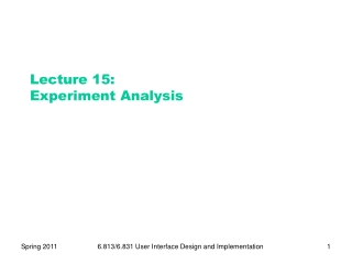 Lecture 12  STATISTICAL TESTS
