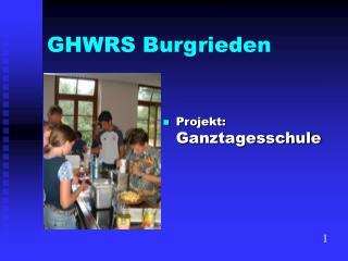 GHWRS Burgrieden