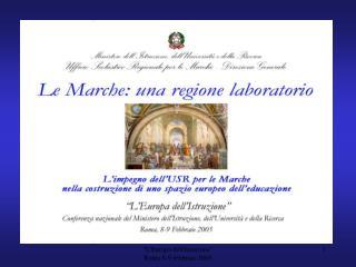 LEuropa dellIstuzione                 Roma 8-9 febbraio 2005
