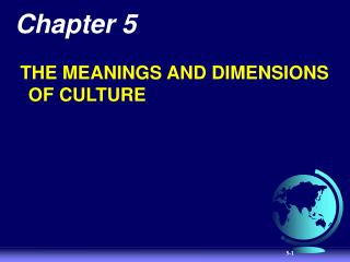 Nature of Culture