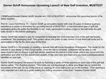 Darren Schiff Announces Upcoming Launch of New Golf Inventio