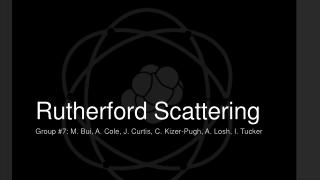 Rutherford Backscattering Spectrometry