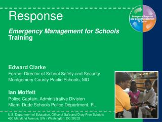 Response  Emergency Management for Schools Training
