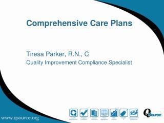 Comprehensive Care Plans