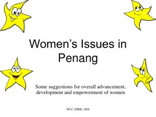 Women s Issues in Penang