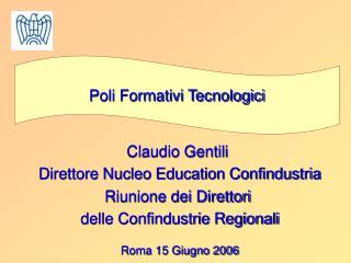 Poli Formativi Tecnologici