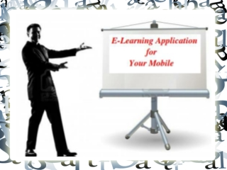 E-learning Application Development | E-Learning Mobile App D