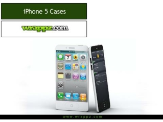 Get personalised protection for your iPhone 5 with attractiv
