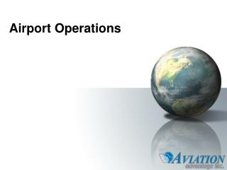 Airport Operations - Slide 1