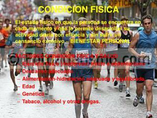 CONDICION FISICA