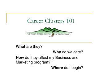 Career Clusters 101