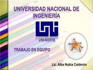 Universidad Nacional de Ingenier a