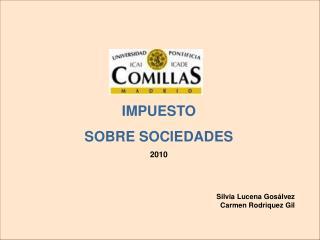 IMPUESTO SOBRE SOCIEDADES 2010