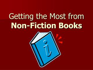 Getting the Most from Non-Fiction Books
