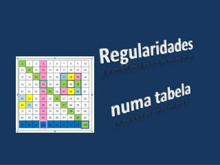 Regularidades  numa tabela