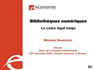 Biblioth ques num riques    Le cadre l gal belge