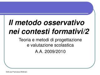 Dott.ssa Francesca Molinaro