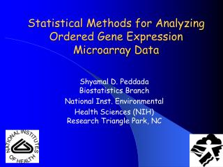 Statistical Methods for Analyzing Ordered Gene Expression Microarray Data