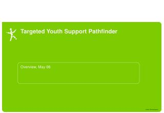 Targeted Youth Support Pathfinder