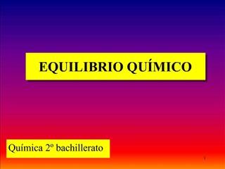 EQUILIBRIO QU MICO