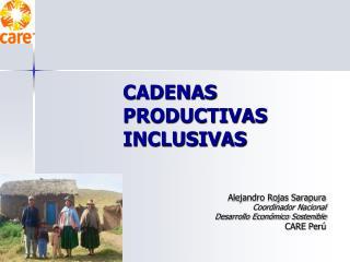 CADENAS PRODUCTIVAS INCLUSIVAS